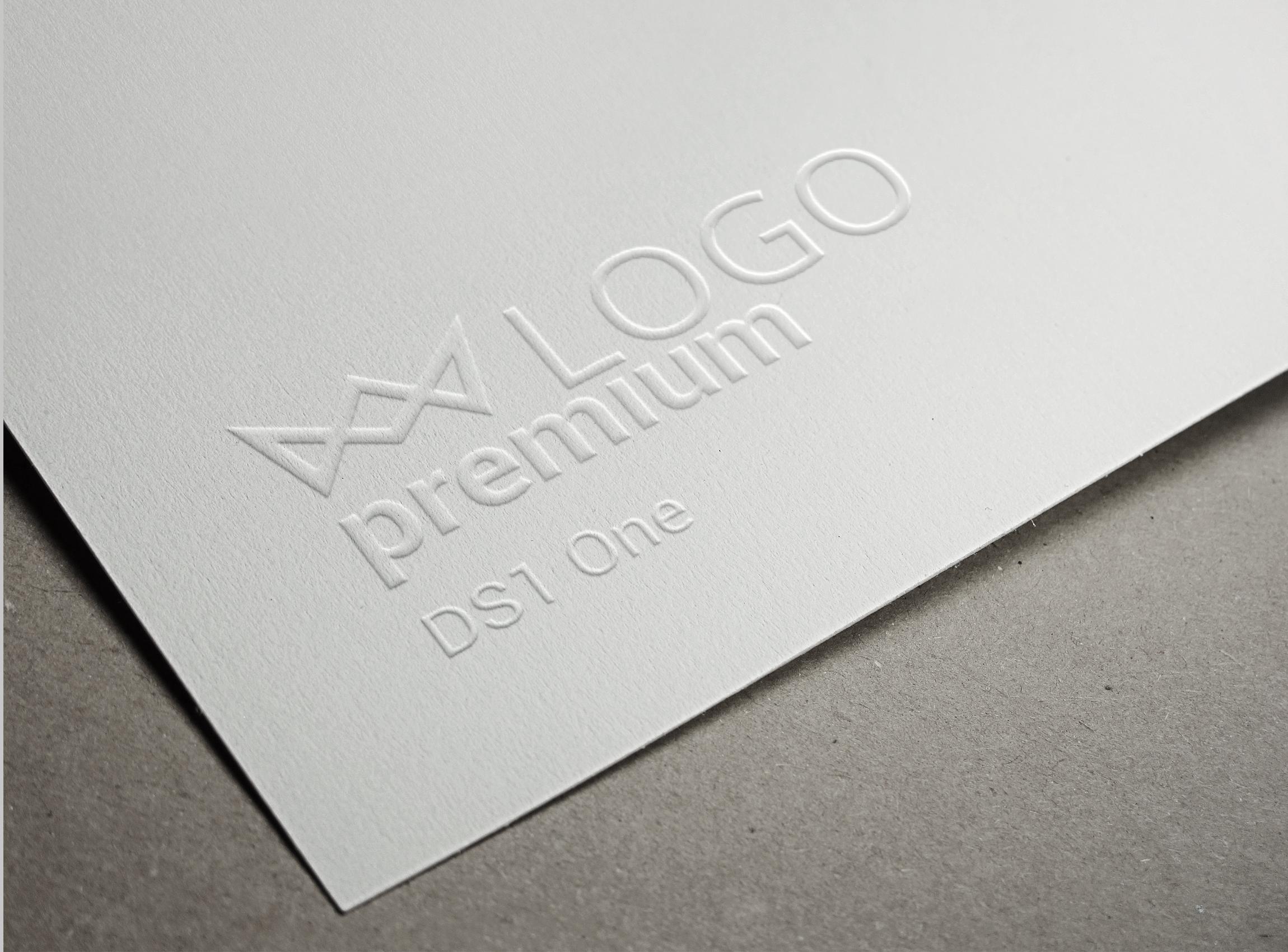 Embossed-Paper-Logo